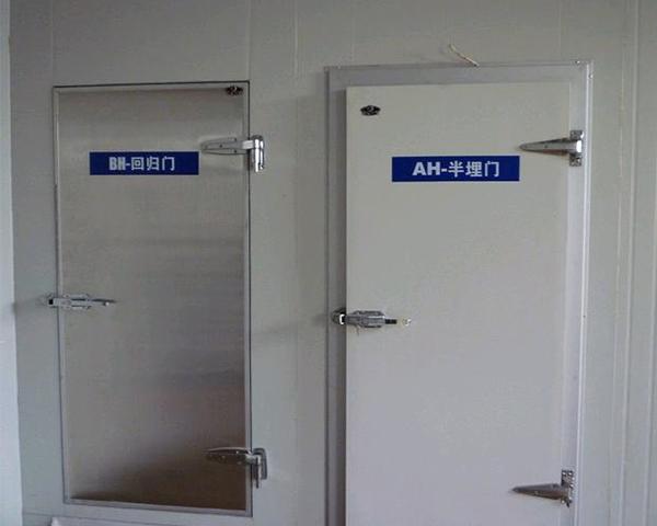 冷库门的设计、安装有什么要求?